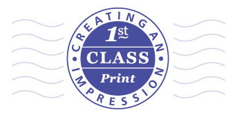 1st Class Print - Call us on 01604 631425